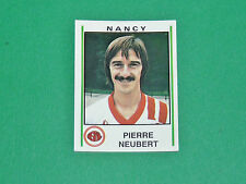 N°175 PIERRE NEUBERT AS NANCY LORRAINE ASNL PANINI FOOTBALL 81 1980-1981