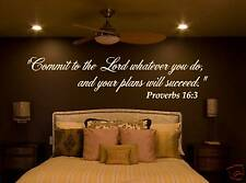 NICE BIBLE quote Vinyl Wall Graphic THE PERFECT TOUCH