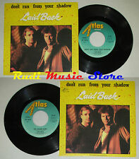 LP 45 7'' LAID BACK Don't run from your shadow Ice cream 1985 italy cd mc dvd(*)