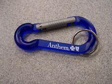 Anthem Blue Cross Blue Shield Plastic Clip/Hook/Carabiner Key Chain Keychain