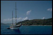 007059 Ketch a ancoraggio A4 FOTO STAMPA