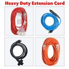Electrical Power Extension Cord 12/14/16Gauge Lighted Heavy Duty Indoor Outdoor