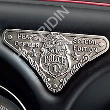 Harley POLICE MEDALLION 'Special Edition' Peace Officer #1 Collectible USA MADE