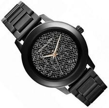 NEW Michael Kors MK5999 Kinley Black Pave Crystal Dial Ladies Watch