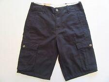 "NWT Men's Levi's Cargo Shorts 29"" Waist Black Bermuda Pants Guys Teen MSRP $50."