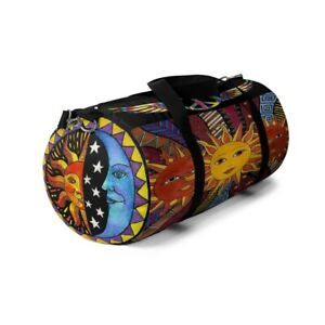 Duffel Bag Celestial Sun & Moon Pattern. Limited Edition