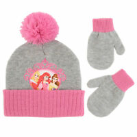 Disney Princess Hat and Mittens Cold Weather Set, Toddler Girls, Age 2-4