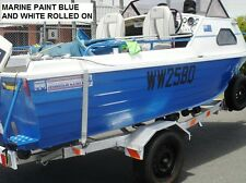 FIBERGLASS BOAT PAINT 1 X 4 LITRE CHOICE OF COLOURS BRUSH, ROLL, SPRAY DELIVERED