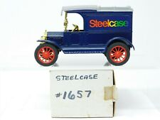 1/25 Scale Ertl 1657 Steelcase Ford 1913 Model T Van Coin Bank