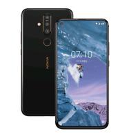 Nokia X71 128GB (Unlocked) DUAL SIM 6.39in 48MP 6GB RAM ZEISS PureDisplay Black