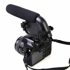 VM190 Video Stereo Microphone For Nikon D7200 D7100 D7000 D5200 D5300 D800 D3200