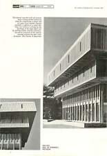 1966 Walling, Hall Of Pharmacy, Michigan 2 Glen Paulsen & Associates