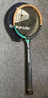 Vintage 1980's  DONNAY Mistral Wooden Tennis Racket.