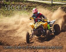 Motocross ATV Quad Racing Motivational Poster Youth Jersey Gear AMA Clubs MVP634