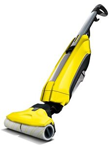 Karcher FC5 Hard Floor Cleaner - Yellow Sweeper and Mop in One 10555020