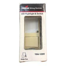 Cooper Wiring 7738v Box Arrow Hart Switchnightlights Dimmable Led Nightlight