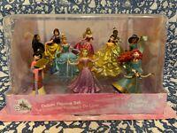 New Disney Princess Deluxe Figure Playset Belle Rapunzel Tiana Cinderella Merida