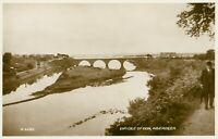 Bridge of Don, Aberdeen (Bowler-hatted man on right) Valentine's no.A.6082 1910s
