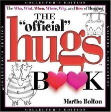 The Official Hugs Book Martha Bolton, Hardcover New