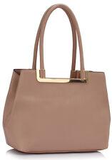 Ladies Faux Leather Shoulder Bags Women's Fashion Designer Tote Handbags 441