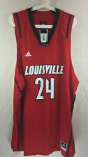 63dbd730a ADIDAS Louisville Cardinals Official  24 Red Basketball Replica Jersey  Men s 2XL