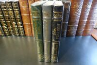 Easton Press FREAKONOMICS, Levitt & Dubner 3 vols., 1 signed, NEW/SEALED leather