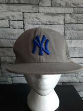New York Yankees Baseball Cap Grey 59Fifty Fitted New Era 7 1/4 58cm
