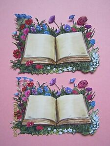 New: 8 x Tattered Lace : Floral Story Book Charisma Die Cuts