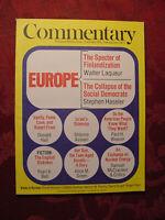 COMMENTARY Magazine December 1977 Walter Laqueur Pearl K. Bell Shlomo Avineri
