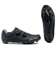 Northwave Rebel 2 Mountain Bike Shoe Carbon Sole SLW2 Dual Closure System 42.5