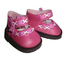 Hot Pink Cross Strap Shoes Fits 18 inch American Girl Dolls