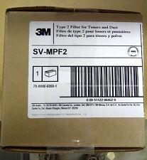 Atrix 31700 Compatible 3M SV-MPF2 Type 2 Vacuum Filter Toner Dust SCS, 6/case