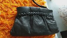 Small leather wallet/makeup bag NEW