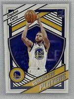 Stephen Curry 2020-21 Donruss Basketball Complete Players Insert Golden Warriors