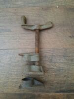 """Vintage 3/4"""" Pipe Clamps Tools Woodworking Made in USA"""