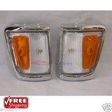 New Toyota Hilux Indicator Signal Corner Lamp Light 88-97 LN106 4WD Pickup Pair