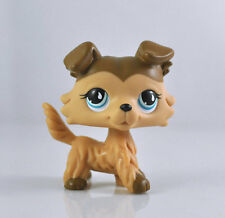 Pet Littlest Collie Dog Child Girl Figure Toy Loose Cute Xmas LPS983