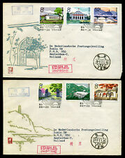 China 1964' PRC S65 Cpt Set FDCs Yannan Sacred Shrine of the Revolution used