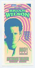 Brian Wilson Handbill 1999 March 9 Michigan Theatre Ann Arbor