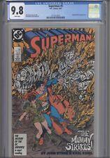 Superman #5 CGC 9.8 1987 DC: John Byrne story & Art Wonder Woman App: NEW FRAME
