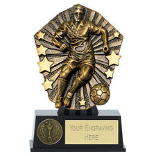 Football Trophy Man of the Match Top Goal Scorer 12.5cm  FREE ENGRAVING