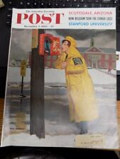 VINTAGE MAGAZINE~SATURDAY EVENING POST~DEC. 3, 1960~STANFORD UNIVERSITY