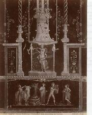 Albumen Italy 11260 decorativa del triclinio  Pompei Edizioni Brogi