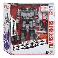 """NEW Transformers War for Cybertron Netflix 7"""" Voyager Decepticon Megatron 3-Pack"""
