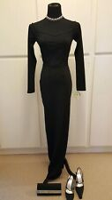 Women WINDSOR Homecoming/Prom/Formal Black Long Sleeve Bodycon Gown SIZE M