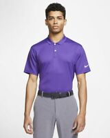 Nike Dri-FIT Victory Polo Golf Purple/White BV0356-547 Multiple Sizes