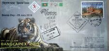 Banglapex 2019 29th July Stamp Day Commercially Used Special Cover