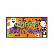 Happy Halloween Foil Banner Indoor & Outdoor Banners Party Decorations