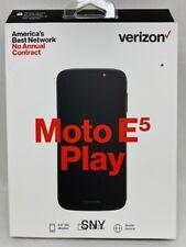 NEW IN BOX Verizon Prepaid - Moto E5 Play 16GB Memory Prepaid  Phone -UNLOCKED