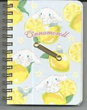 Sanrio Cinnamoroll Spiral Notebook Hard Cover Lemons